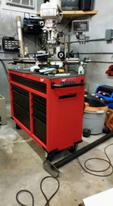 06 03 15 Milwaukee tool box assembled in garage