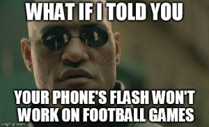 morpheus phone flash