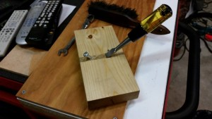 07 16 15 homemade router plane with set screw added